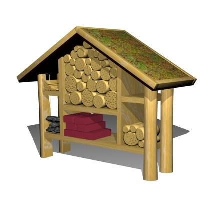 Woodwork AB-insekthotell i träWoodwork AB-insekthotell i trä