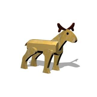Woodwork AB- lekdjur-ren i robinia