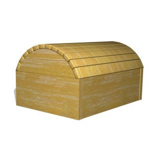 Woodwork AB-temalek-skattkista i robinia