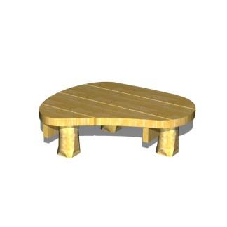 Woodwork AB-Organisk plattform-lekbordMINI