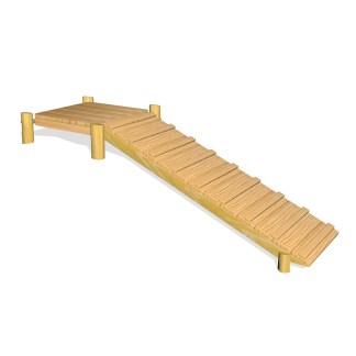 Woodwork AB-plattform till linbana