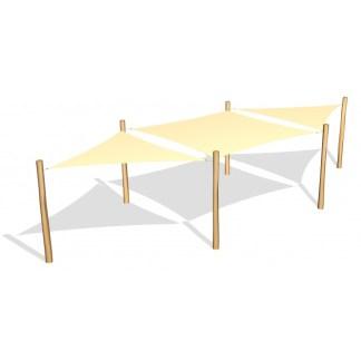 G26430 Solsegel i HDPE från Woodwork AB