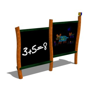 Woodwork AB-griffeltavla för utemiljöer