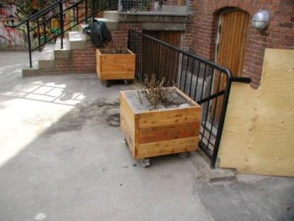 Liten planteringslåda från Woodwork AB