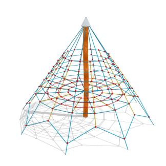 Klätterpyramid-Woodwork AB