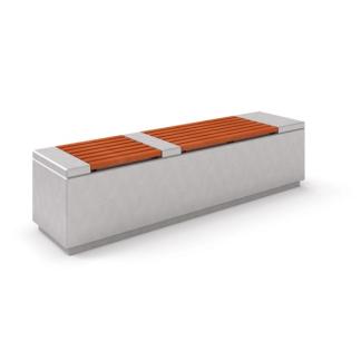 Betongbänk med träsits-Woodwork AB