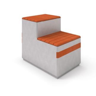 Betongbänk med sittyta i trä-Woodwork AB