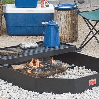 Grill från Woodwork, grillring, brasring, grillplats, eldstad