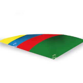 Hoppkudde 8,70 x 9,00, flerfärgad eller enfärgad