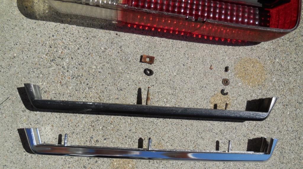 Rear brake light trim stips, Datsun 240Z seat refurbish, WoodWorkerB