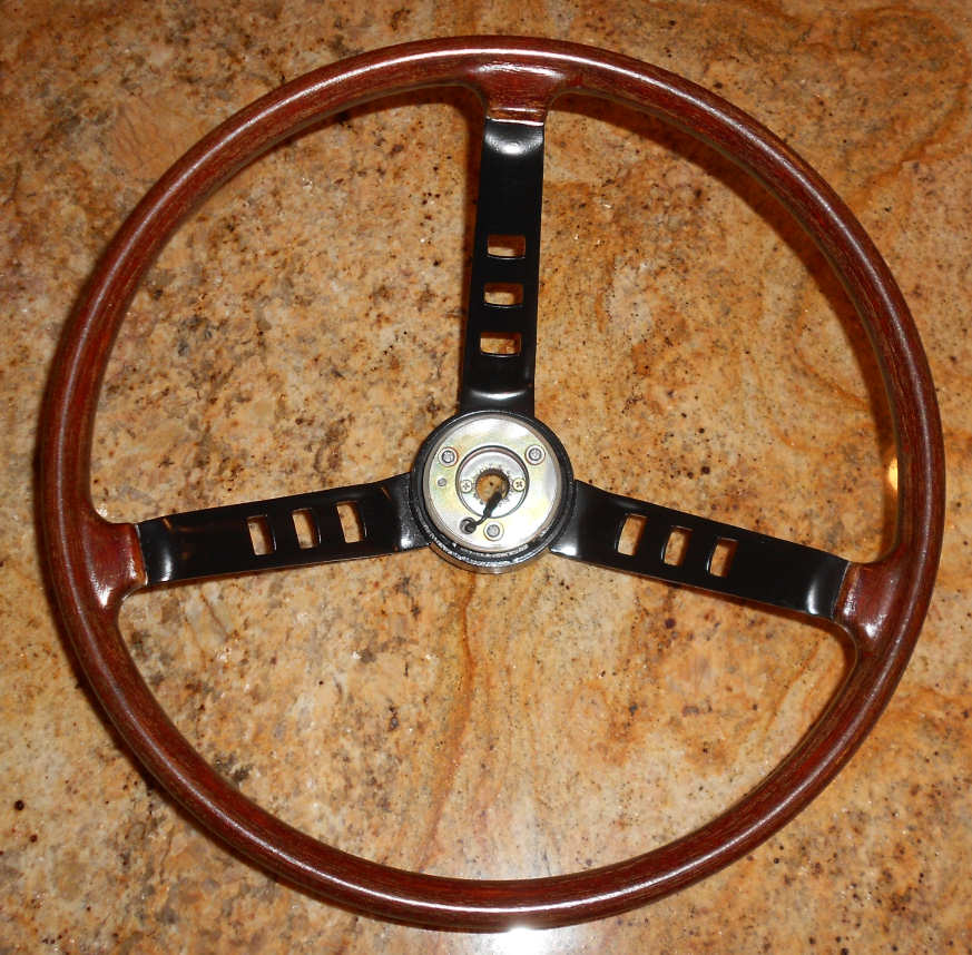 Steering Wheel Refurbish, Top, Datsun 240Z