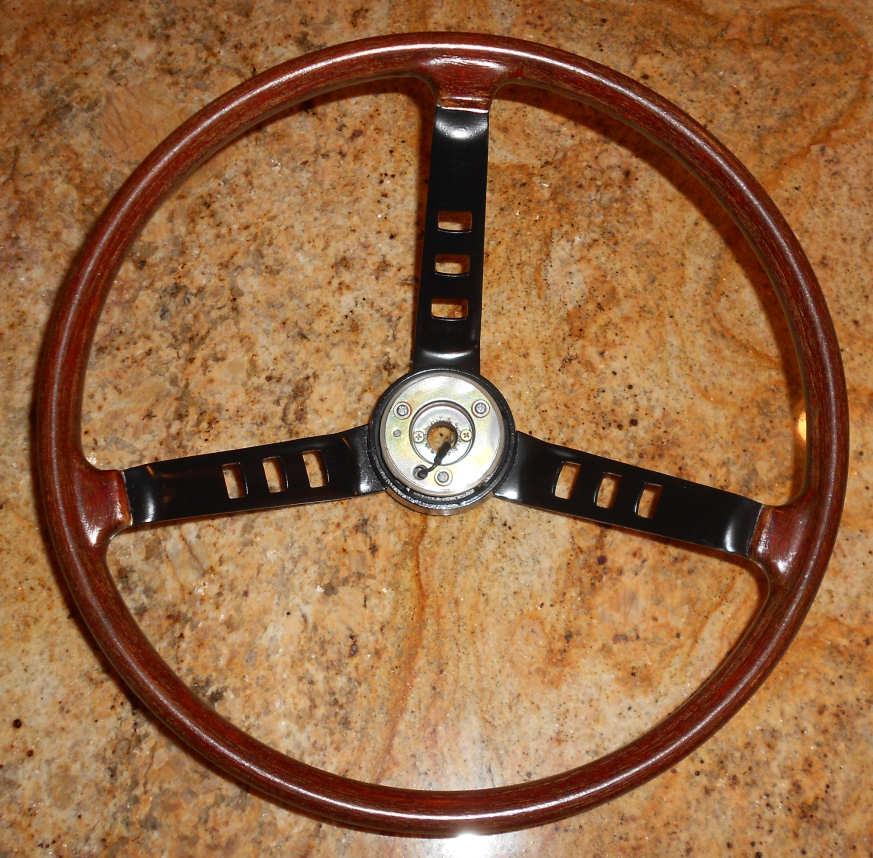 Steering Wheel Refurbish, Top, Datsun 240Z
