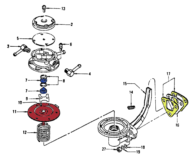Fuel Pump Parts Diagram