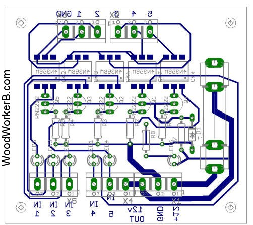 Setup and Configuration of Limit Switches Opto Board Layout