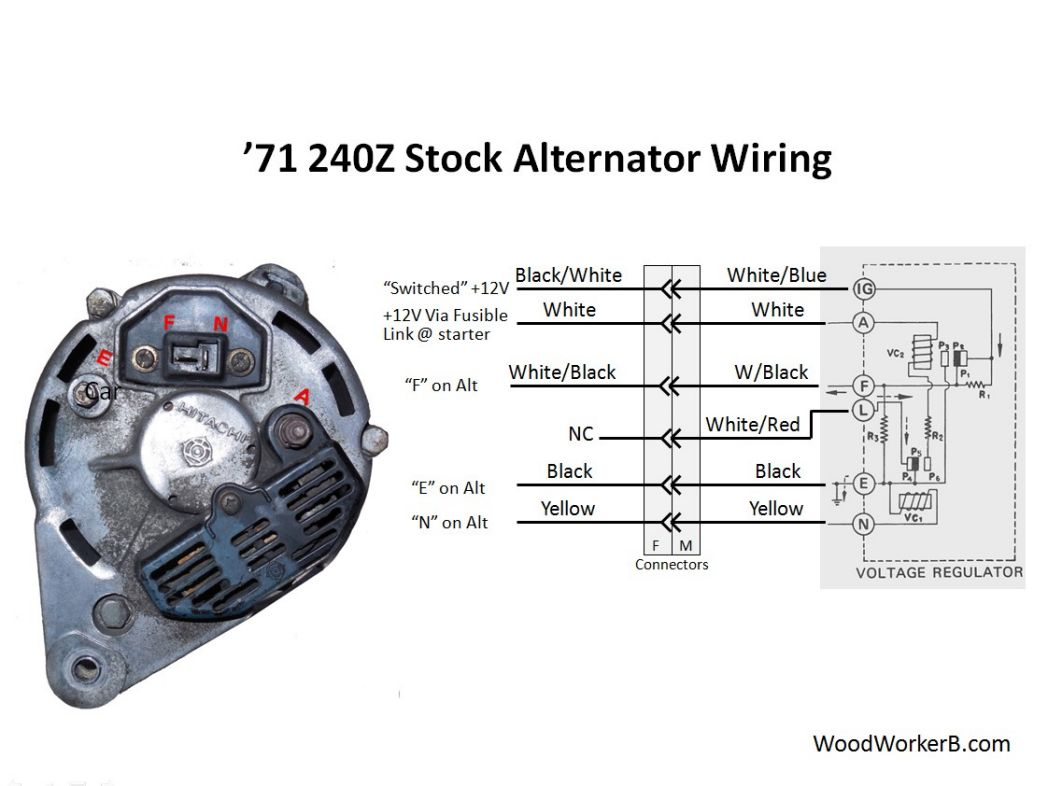 Alternator Wiring Copy furthermore Rc Xd besides Chrysler Electronic Ignition Wire Diagram Pin Ballast Electronic Volt Regulator likewise Wiring furthermore Hj Alternator Schematic Ih Mud. on denso alternator wiring diagram