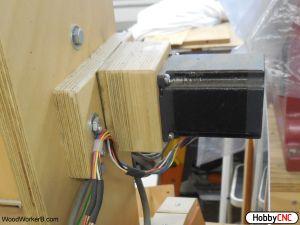 DIY CNC Stepper Motor Mount. DIY CNC Wood Router Plans. for DIY CNC, DIY CNC router, DIY CNC Mill, DIY robot control. Low cost high performance stepper driver.