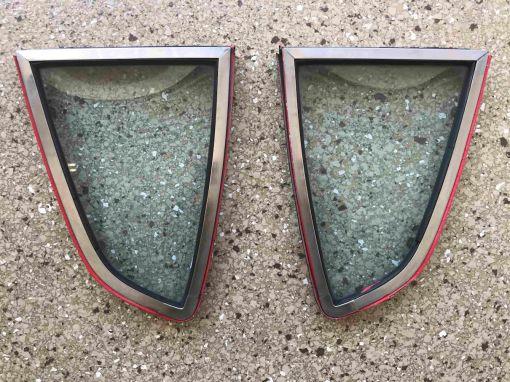 Datsun 240Z Quarter Window, Pair