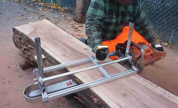 """Alaskan Small Log Mill for 20"""" or Smaller Chain Saws"""