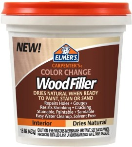Elmer's E914 Carpenter's Color Change Wood Filler - best wood filler for staining