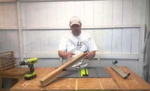 how to adjust Ryobi table saw fence