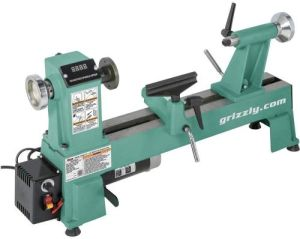 Grizzly Industrial T25920-12 x 18 Variable-Speed Benchtop Wood Lathe
