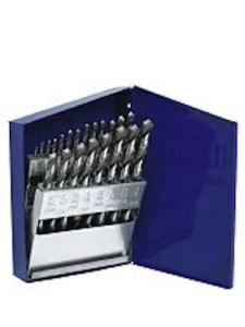 Irwin Industrial Tools 63221 Cobalt Fractional Straight Shank Jobber Length Metal Index Drill Bit Set