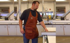 Right Type of Woodworking Apron