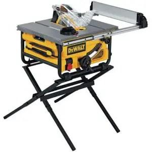DEWALT DW745S Compact Job Site Table Saw