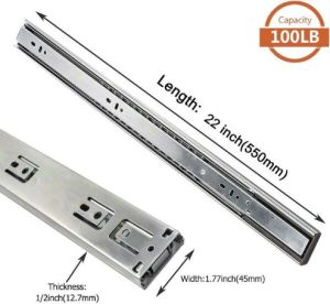 Lontan 4502S322 Drawer Slides