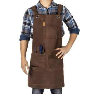 Texas Canvas Wares Waxed Canvas Heavy Duty Shop Apron