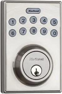 Kwikset 92640-001 Contemporary Electronic Keypad Deadbolt Lock