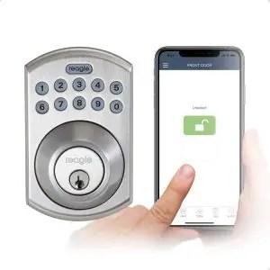 Reagle Smart Lock with Bluetooth Keypad Deadbolt Lock