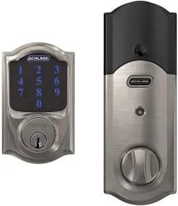 Schlage BE469ZP Cam 619 Connect Smart Deadbolt Lock