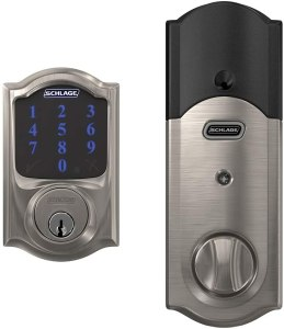 Schlage BE469ZP Cam 619 Connect Smart Deadbolt Lock