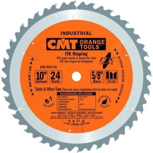 CMT 250.024.10 ITK Industrial Rip Saw Blade