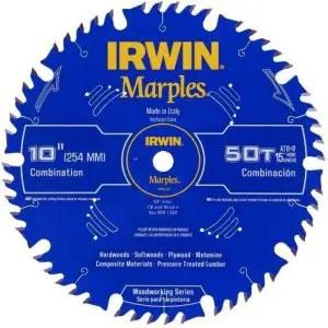 IRWIN Marples 10-Inch Miter / Table Saw Blade