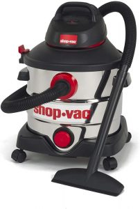 Shop-Vac 5979403 8-Gallon Stainless Wet Dry Vacuum
