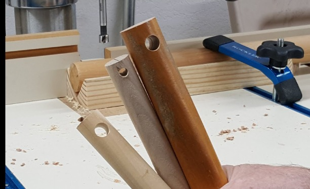 How to Drill Long Straight Holes in Wood Dowel