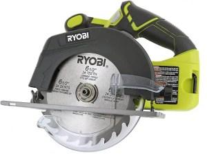 Ryobi P507 One+ Cordless 6 1/2 Inch Circular Saw