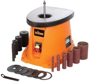 Triton TSPS450 3.5Amp Cast Iron Top Oscillating Spindle Sander