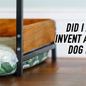 Building a Better Dog Bed
