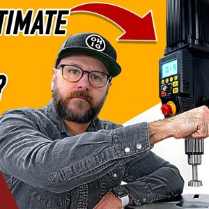 Crazy Drill Press From the Future! Is the Nova Viking Worth $1000?