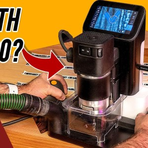 Handheld CNC Router! Trying Out the Shaper Origin for the First Time!