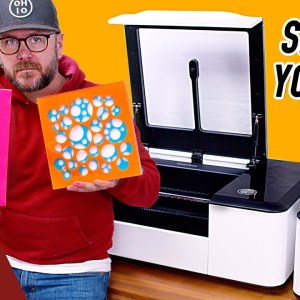 New Laser Cutter With Some Crazy Features. | Makeblock Laserbox