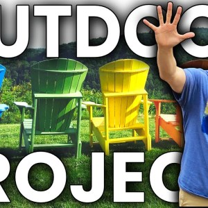 Top 5 OUTDOOR Woodworking Projects That Sell