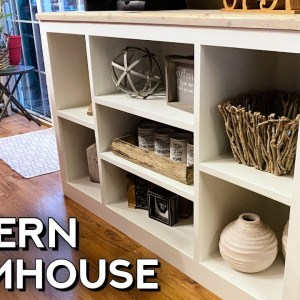 ULTIMATE Console Table | DIY Woodworking Project