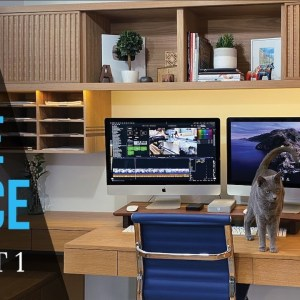 Home Office PART 1 // Home Office Organization // Desk Setup