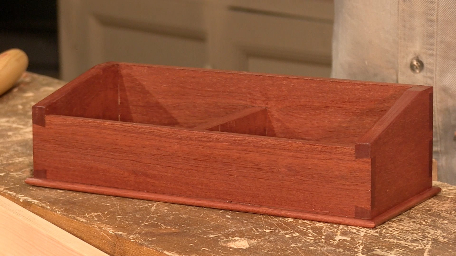 Dovetail Caddy Project Info Woodworking Masterclasses
