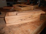Dovetail box by David Knight