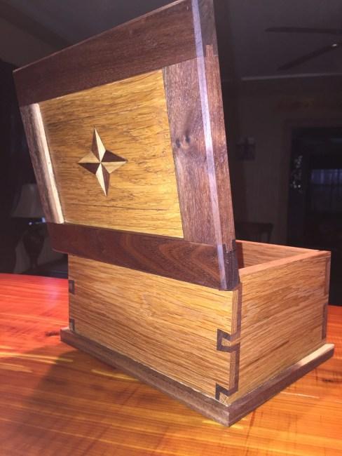 Dovetail Box by Bryson Hillis